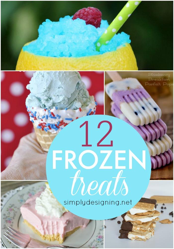 12 Frozen Treats