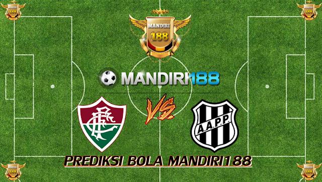 AGEN BOLA - Prediksi Fluminense vs Ponte Preta 21 November 2017