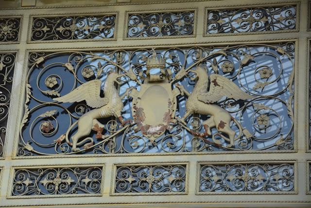 Central Station Budapest metal art