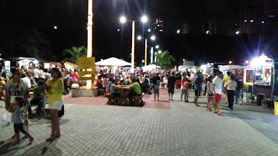Praça da Alimentação João Pessoa - Pernambuco Turismo