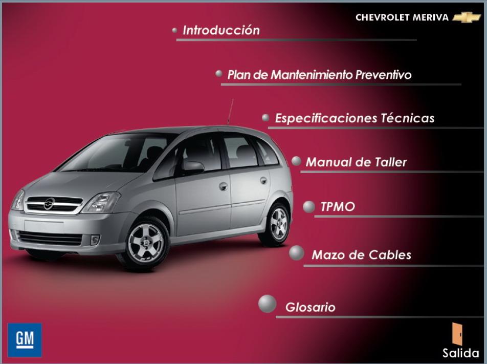 Manual De Servicio Chevrolet Meriva Uploaddiscounts