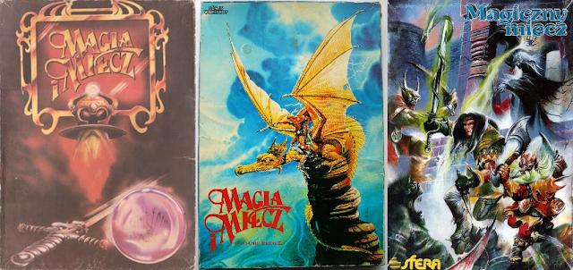 Magia i Miecz | Magiczny Miecz | pudełka