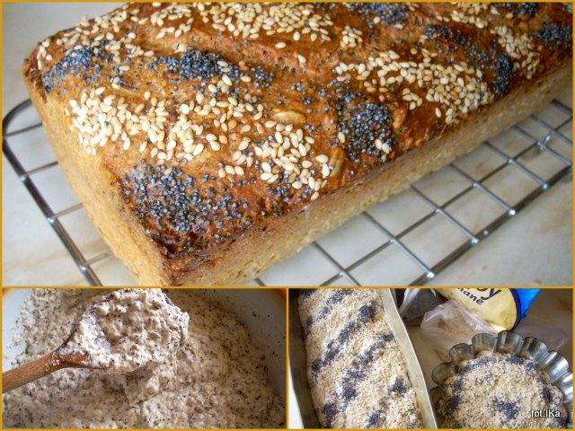 pieczywo, chleb wieloziarnisty, chleb drożdżowy, bochenek