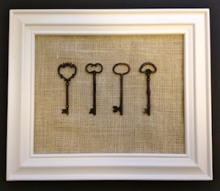 Craft You Can Make Out Of Canvas Keys