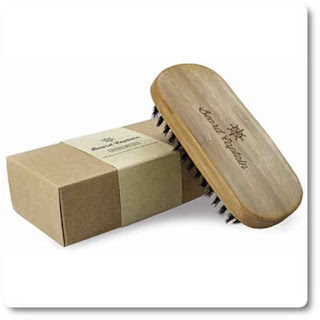 27 Beard Captain Boar Bristle Bamboo Base Beard Brush