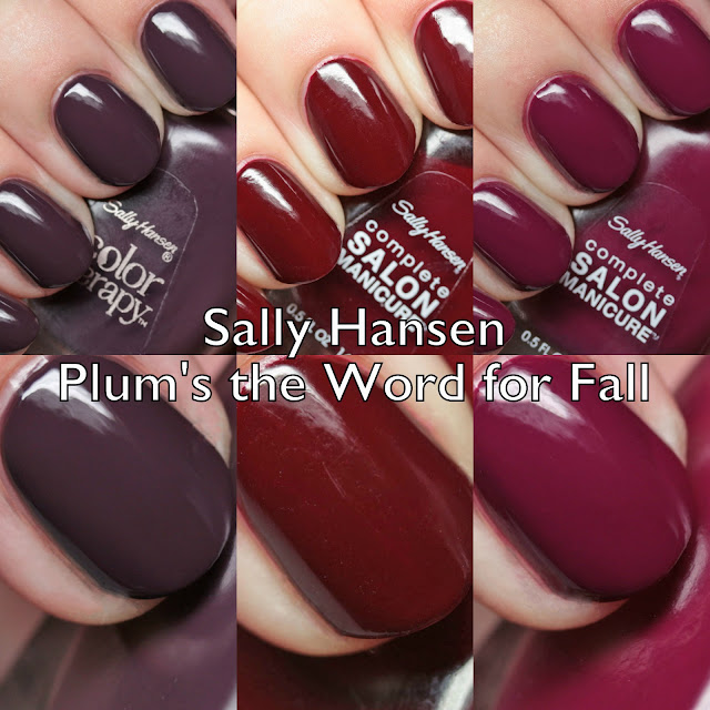 Sally Hansen Plum's the Word for Fall