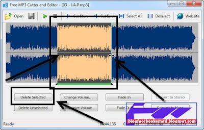 cara menggunakan free mp3 cutter and editor dengan mudah