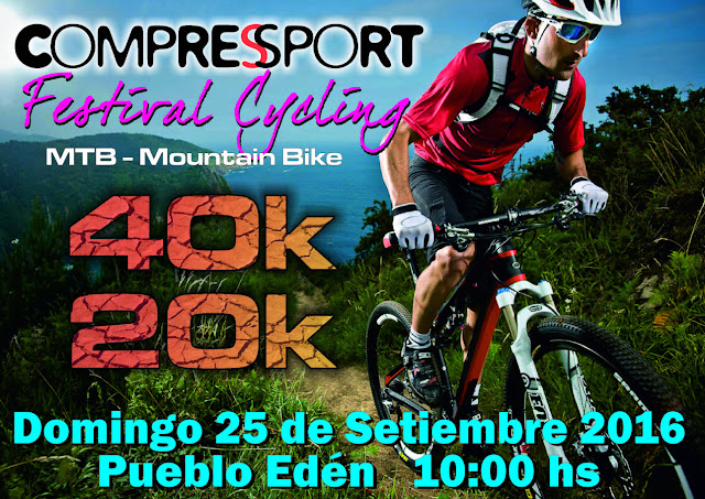 Compressport Festival Cycling en Pueblo Edén (Maldonado, 25/sep/2016)
