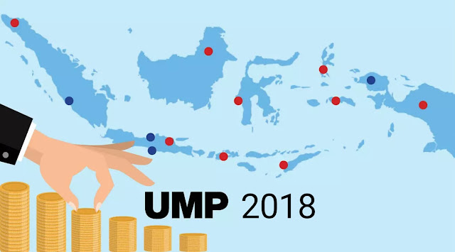 Ini Daftar Resmi Kenaikan Upah Minimum Provinsi (UMP) 2018 di 34 Provinsi