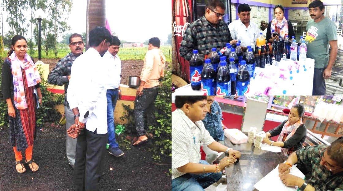 Continued inspection of food establishments in the district on the instructions of the collector- कलेक्टर के निर्देश पर जिले में खाद्य प्रतिष्ठानों का निरीक्षण सतत जारी