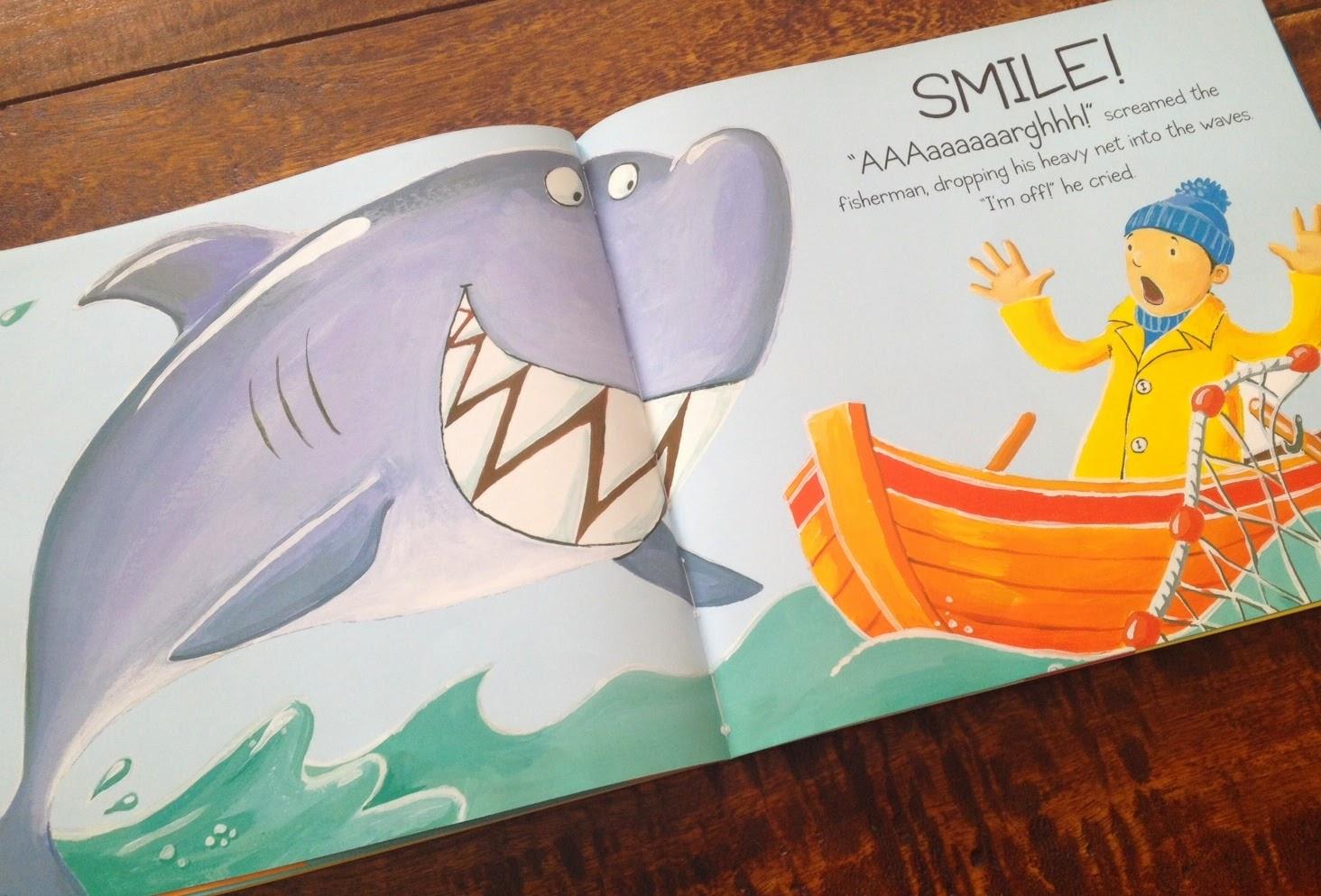 Smiley Shark A Pre Writing Freebie