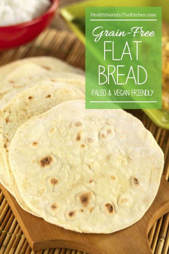 Grain Free Flat Bread