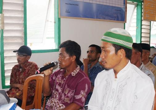 Konsultasi Publik ,Penyusunan Master Plan Pariwisata Di Pulau Pasi Gusung