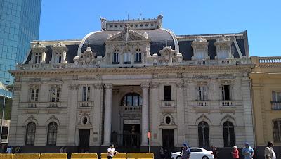 Palazzo delle poste Santiago