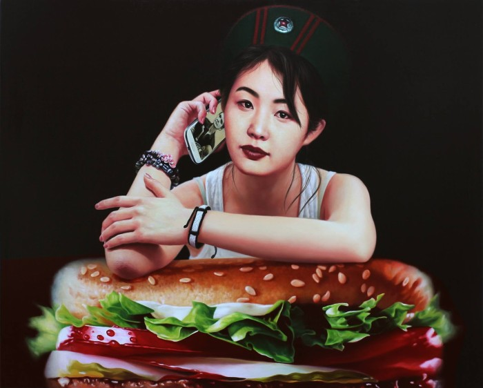 Южнокорейский художник. Hae-Kwang Jeong