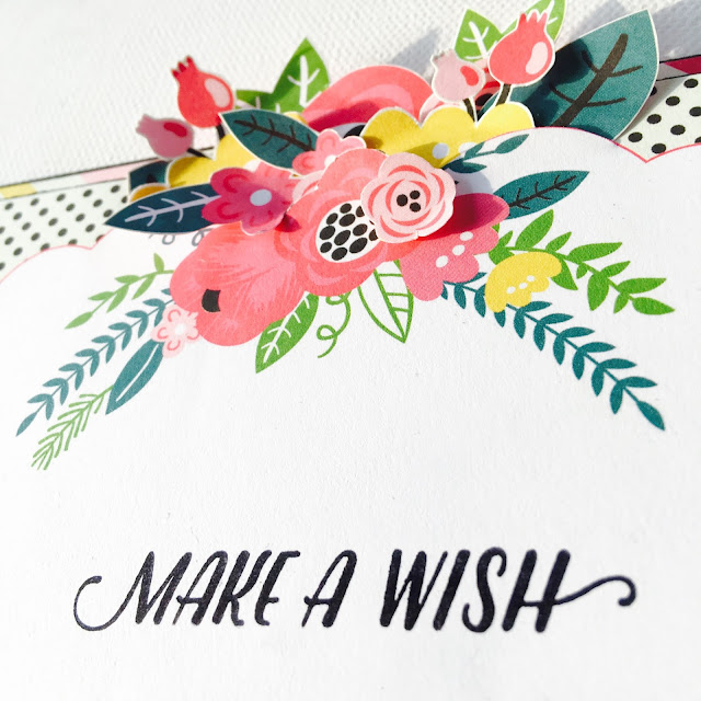 Make a Wish Birthday Card by Angela Tombari for Crea il Tuo Kit con Angela & Giorgia June 2017