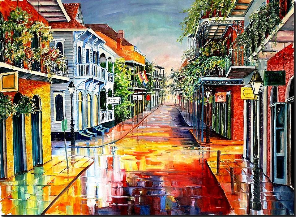 New Orleans Art by Diane Millsap: New Orleans' Royal Street