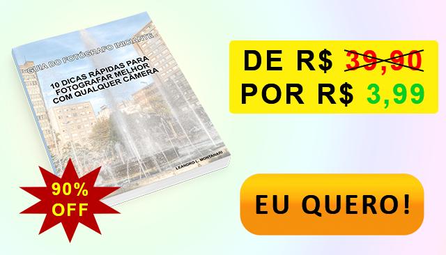 [E-BOOK] GUIA DO FOTÓGRAFO INICIANTE COM 90% DE DESCONTO