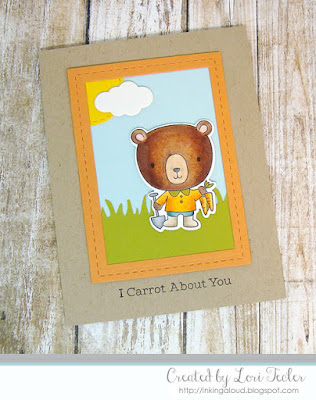 I Carrot About You card-designed by Lori Tecler/Inking Aloud-stamps from My Favorite Things