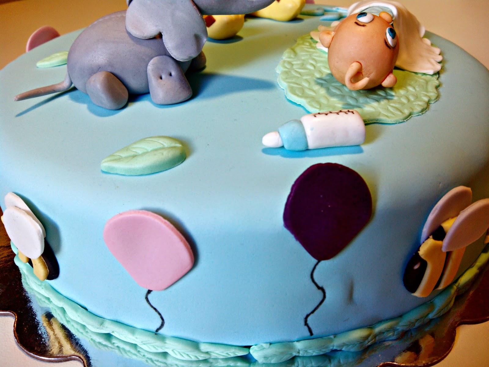 Detalles tarta de bautizo