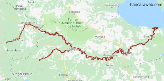 7 Daftar Sungai Terbesar Di Indonesia Beserta Nama Daerah dan Gambar