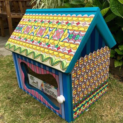 Little Free Library Thundersley Essex Noise Arts Festival