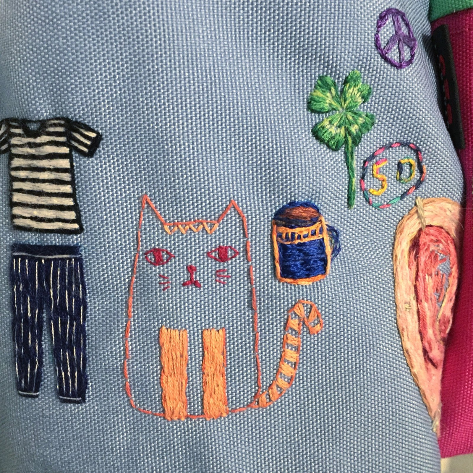 The Old Bag Project by Sparkly Mouse, a Feeling Stitchy feature by floresita