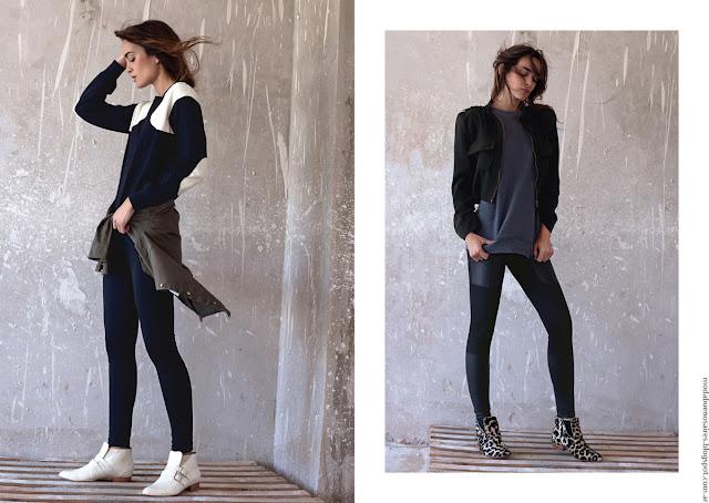 Moda invierno 2016 ropa de mujer invierno 2016 Pura Pampa.