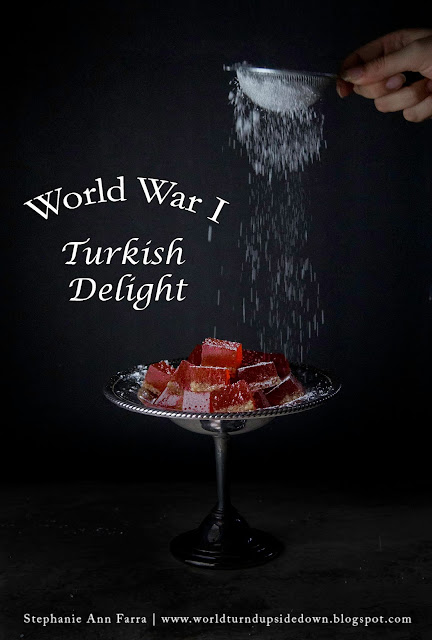 WWI Recipes Candy Turkish Delight