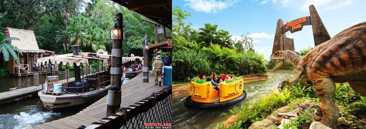Second Drop Attractions: Hong Kong Disneyland vs Universal ...