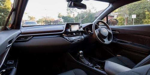 Interior Toyota C-HR Indonesia