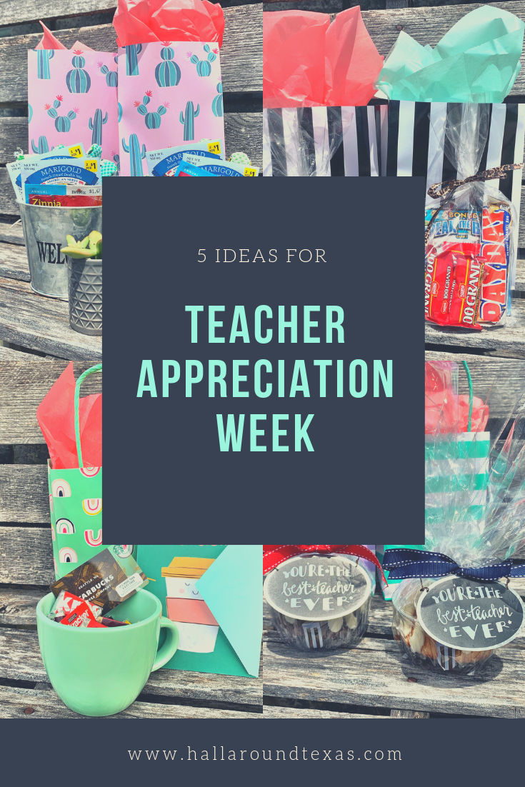 Teacher Appreciation Gift - Hall Around Texas