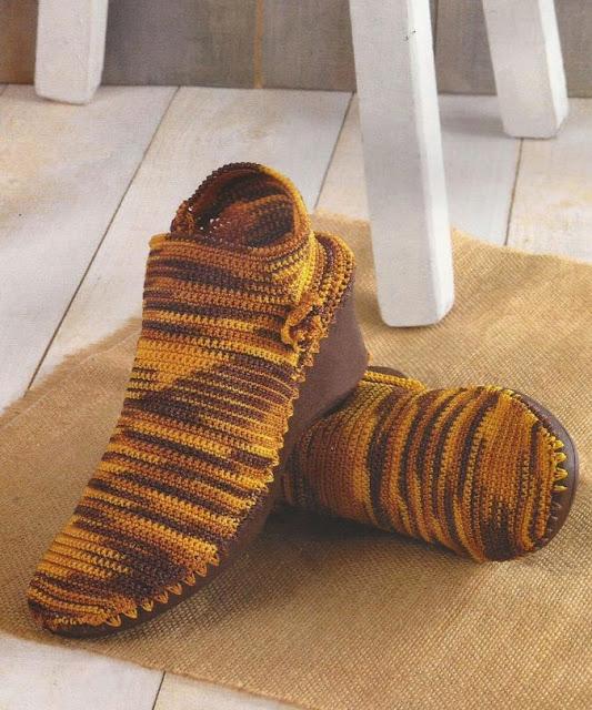 Botines a Crochet