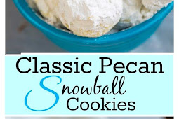 Classic Pecan Snowball Christmas Cookies