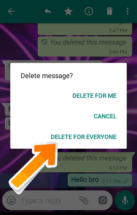 WhatsApp-Sent-Message-Delete-Kaise-Kare-After-7-Minute