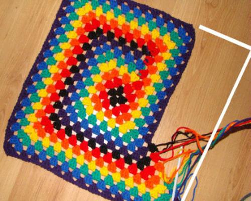 So Pretty... Crochet Granny Square - Free Diagram