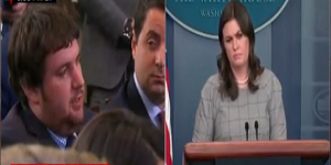 Sarah Huckabee Sanders Teases the Press About Trump's Upcoming 'Fake News' Awards