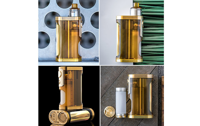 Get 6 Things from Lost Vape Furyan Mech 21700 Squonker Mod