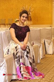 Actress Anchor Manjusha Pictures at Babu Bangaram Success Meet  0134.JPG