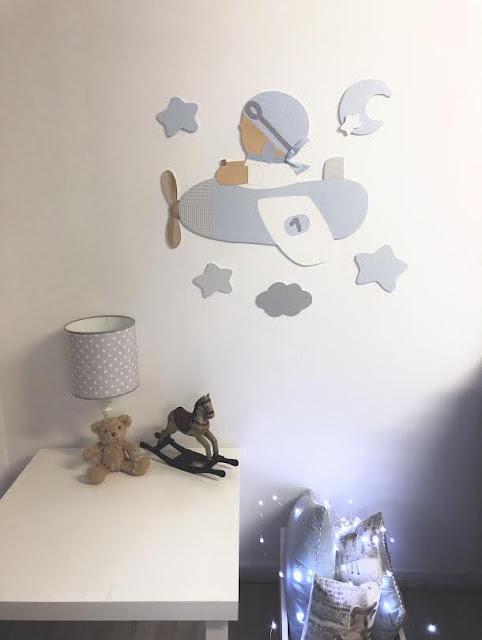 Decora su pared con SILUETAS infantiles pintadas a mano