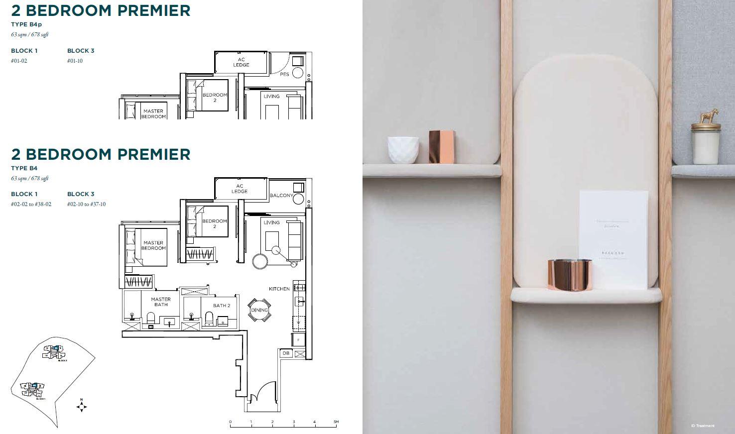 Gem Residences 2 bedroom premium