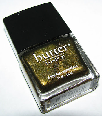 Butter London WALLIS Nail Polish Swatches & Review - Blushing Noir
