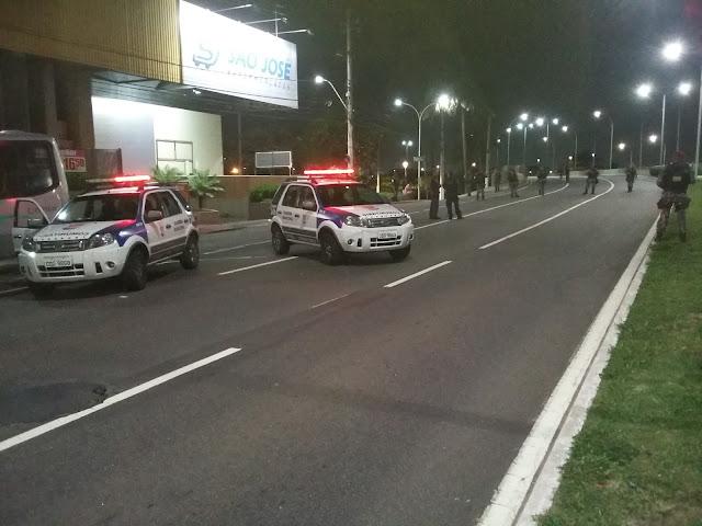 Guarda Civil Municipal de Vitória (ES) e Força Nacional atuam em conjunto para proteção da população durante crise no ES