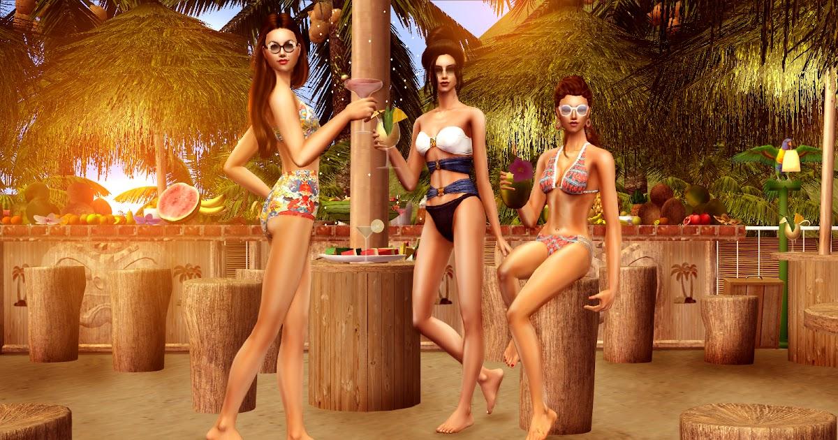 Le Chat Noir Blog: The Kiss Of Sun: Swimwear