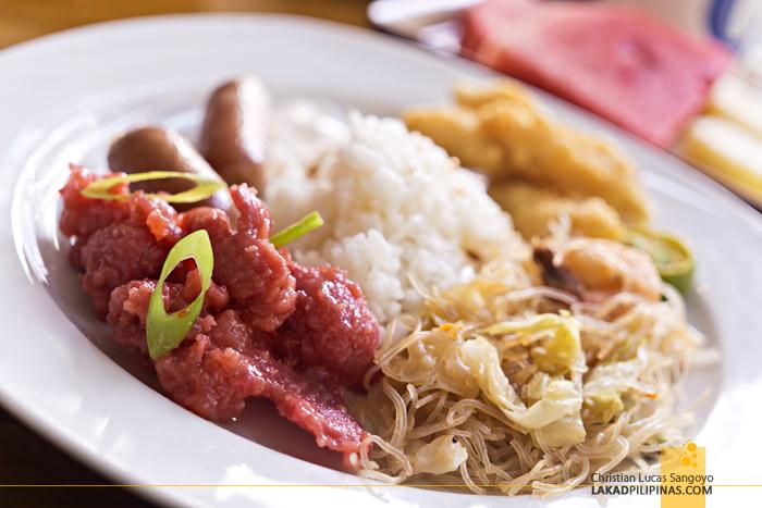Ferra Hotel Boracay Buffet Breakfast
