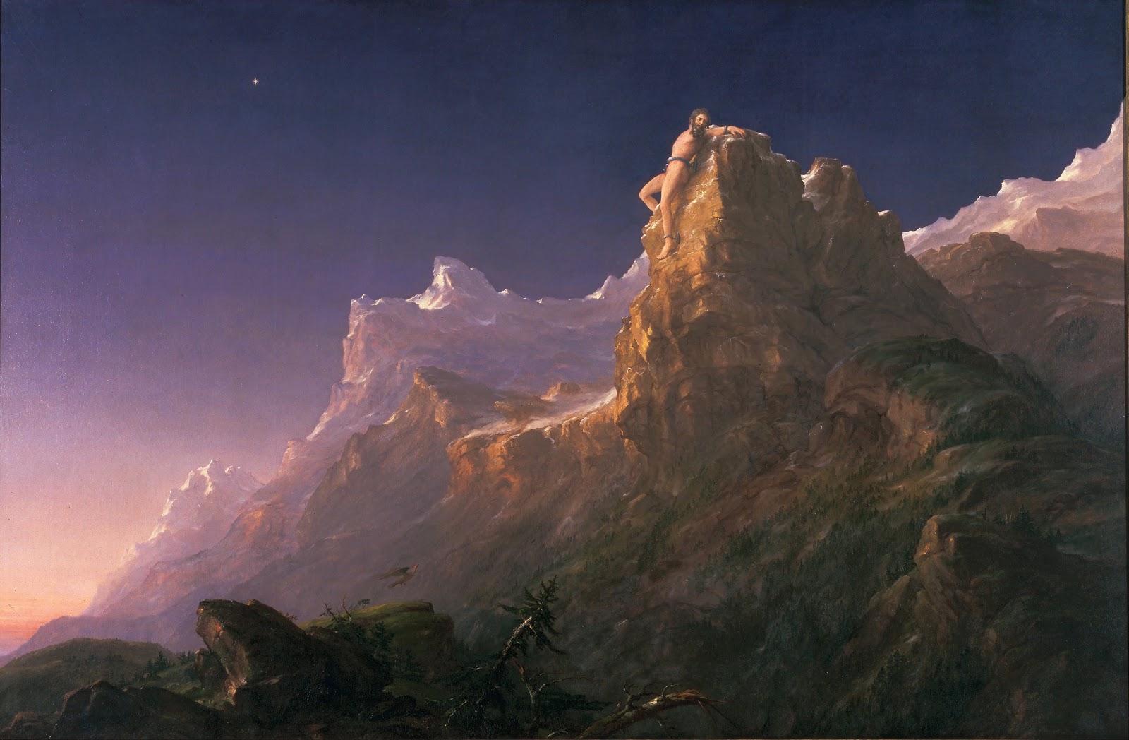Thomas Cole Prometheus  ound  Fine Arts Museums of San Francisco