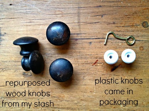 wood knobs versus plastic knobs