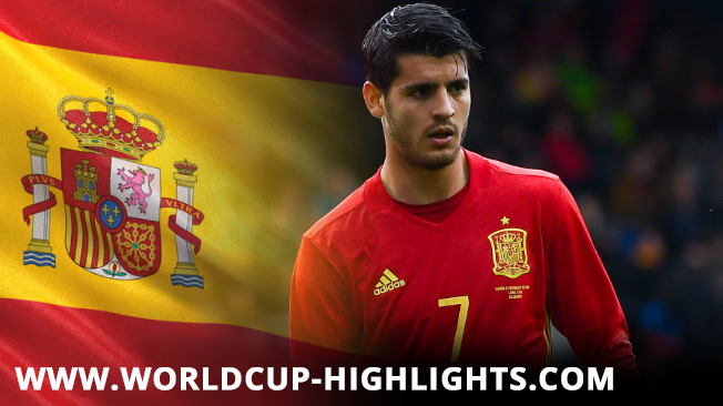 Spain's - Fifa World Cup 2018