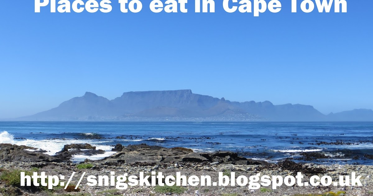 Snig 39 s kitchen places to eat in cape town for Kitchen bins cape town