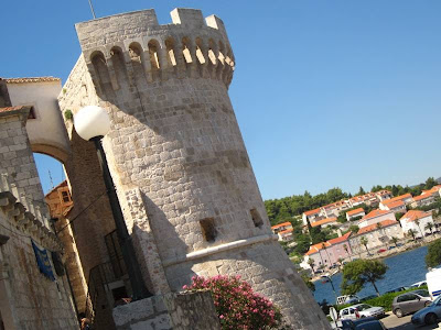 Tower of the City Walls of Korkula